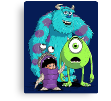 Monsters, Inc. Canvas Print