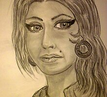 My Version of Amy Winehouse by Norma Jean Lipert