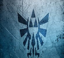 Zelda triforce damaged by tecknomau5