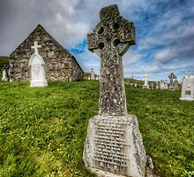 Cille Bharra Church by Fraser Ross
