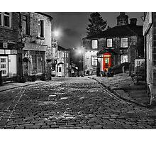 Haworth West Yorkshire - HDR Photographic Print