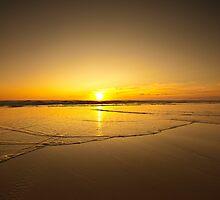 Tideline sunrise  by Chris Simmons