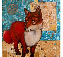 The Sacred Observer (The Red Fox) Photographic Print