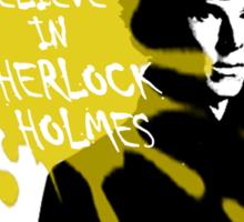 I Believe in Sherlock Holmes - Sherlock BBC Sticker