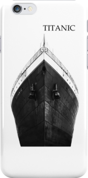 Titanic iphone No.2 by Chris Cardwell