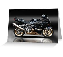 Kawasaki ZX12-R Greeting Card
