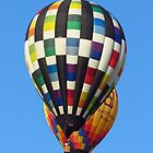 Hot air balloons for iPhone by MaaikeDesign