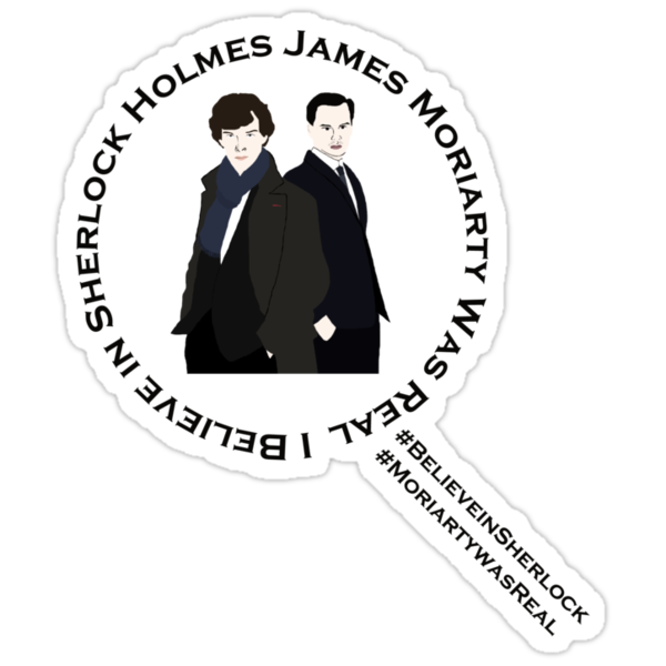 Sherlock & Moriarty Under the Microscope by Anglofile