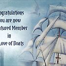 Banner for A Love of Boats by Carmen Holly