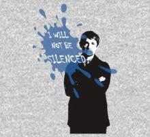 I Will Not Be Silenced - John - BBC Sherlock Kids Clothes