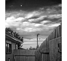 Side of House Moon by Phoonaz