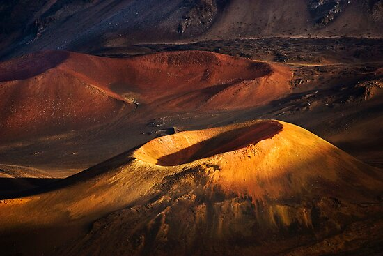 Haleakala Crater 2 by Alex Preiss