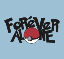Forever Alone - Pokemon by thespookyfog