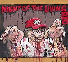 Night of the living Red by SnakeArtist