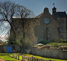 The Parish Church at Kirkliston by Tom Gomez