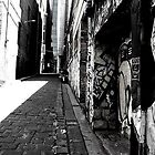 Hosier Lane, Melbourne. by Steph Etheridge