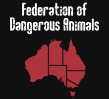 Australia: Federation of Dangerous Animals by jezkemp