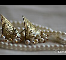 SAILS ON A SEA OF PEARLS! by kamaljeet kaur