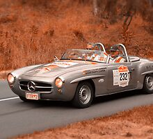 Mercedes Benz 190SL - 1959 by Geoffrey Higges