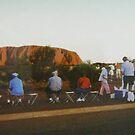 Ayers Rock by sharon wingard