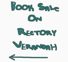 Book Sale on Rectory Verandah by Margo Humphries