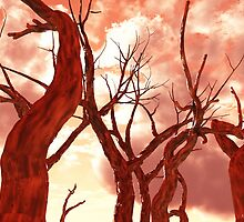 Fire Trees by Eric Nagel