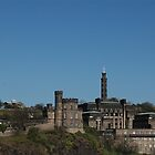 Nelson Monument, Calton Hill, Edinburgh by Pete Johnston
