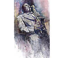 Jazz Saxophonist Charlie Parker Photographic Print
