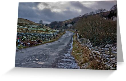 Country Road - Keld by Trevor Kersley