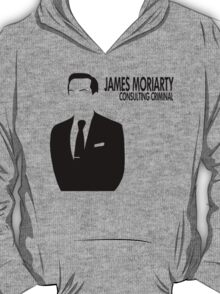 Jim Moriarty - Consulting Criminal T-Shirt