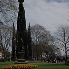 Scott Monument in Princess Street Gardens by Pete Johnston