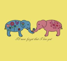 An elephant never forgets. Kids Clothes