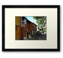 Down By The Riverside - Cerca Del Rio Framed Print
