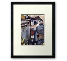 Angles And Corners - Angulares Y Esquinas Framed Print