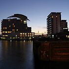 A Cardiff Bay Sunset by cofiant