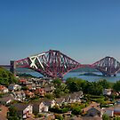 The Forth Bridge from North Queensferry by Tom Gomez
