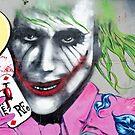 Graffiti Joker by yurix