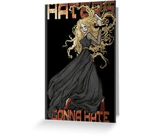 River Song: Haters Gonna Hate Greeting Card