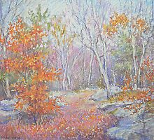 Late fall by Julia Lesnichy