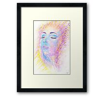 Di Sole e D'azzuro (Of Sun and Blue) Framed Print