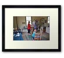 'Artist's at Work' Framed Print