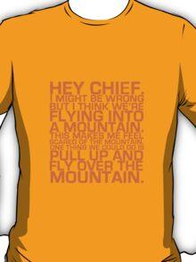 Cabin Pressure: Hey Chief T-Shirt