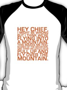 Cabin Pressure: Hey Chief T-Shirt