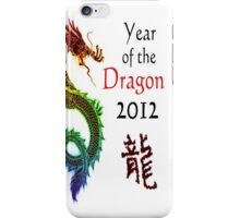 Year of the Dragon 2012 iPhone Case/Skin