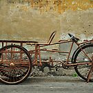 Trishaw in profile by S T
