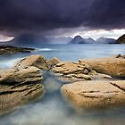 Isle of Skye : Elgol Drenching by Angie Latham