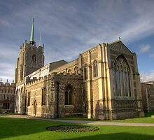 Chelmsford Cathedral, January 2012 by Paul Phillips