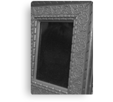 Face in the Scrying Mirror Canvas Print