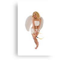 Sexy Cupid the god of desire, Canvas Print