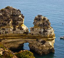 Cliffs at Ponta da Piedade by Paul Collin